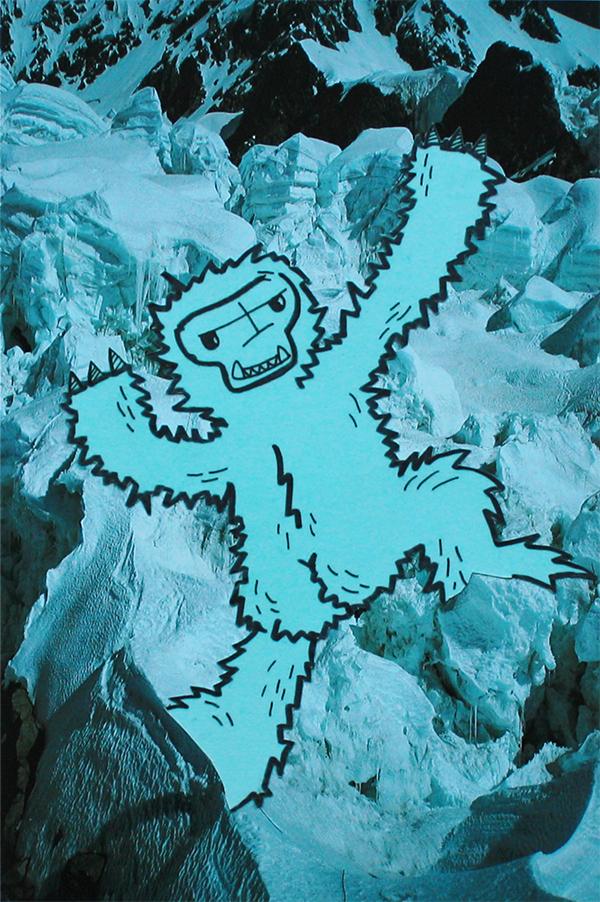 Monster Mountains- Saskia Schreven - Hairy But