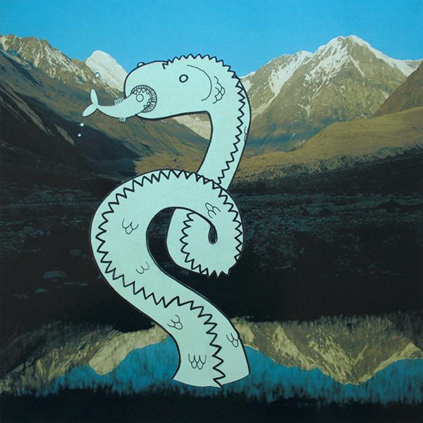 Monster Mountains- Saskia Schreven - Lake Snake