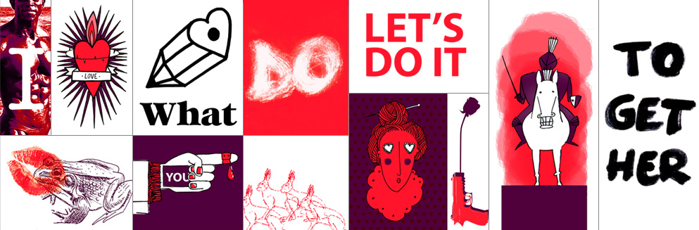 Illustratie Saskia Schreven Let's Do It Together