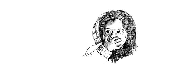 Moderne Sagen - Het Einde Van Het Journaal - Saskia Schreven - Illustratie - Geschrokken kind